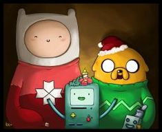 Christmas adventure time by Kesthrel