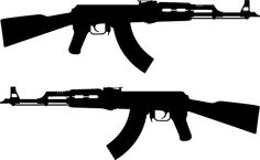 Today i am going to tell you that, how to use the AKM rifle perfectly in Pubg? But, this assault rifle is very difficult to control during long distance gunfights, because of the high recoil. Ak 47, Ak47 Tattoo, Kalash, Tattoo Oriental, Surveillance Drones, Arte Dope, Silhouette Clip Art, Desenho Tattoo, Clipart Black And White