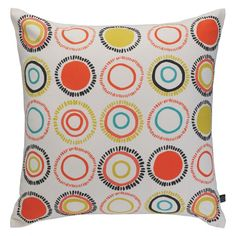 SPECK Multi-coloured patterned cushion 45 x 45cm