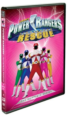 Power Rangers Lightspeed Rescue The Complete Series Available in Stores Nationwide August 11th On August 11, 2015 join the Power Rangers as they battle the evil Diabolico when Shout! Factory releases Power Rangers Lightspeed Rescue: The Complete Series, a 5-DVD box set that contains all 40 episodes of the iconic show's eighth season. After five... [Continue Reading...]
