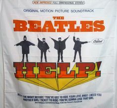 THE BEATLES Help! HUGE 4X4 banner poster tapestry cd album | eBay