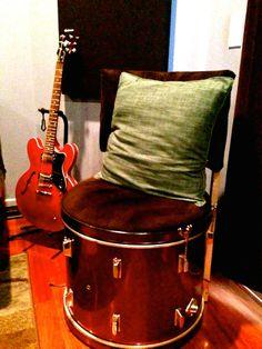 Bass drum chair