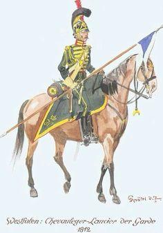 Cavalleggero della guardia del regno di Westfalia