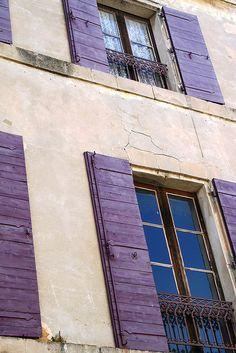 Lavender shutters, Provence