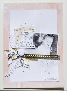 Inspi 4enScrap - thème photo - Le scrap de Mary- jolie page : 17-08-2016