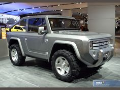 The Ford Bronco concept that was never put into production.
