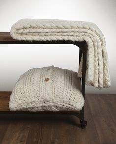 UGG Australia's oversized knit collection from UGG Home - love!