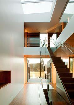 justthedesign: HallwayLake Oswego Residence - Just The Design