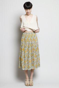 no.6 hematite short skirt