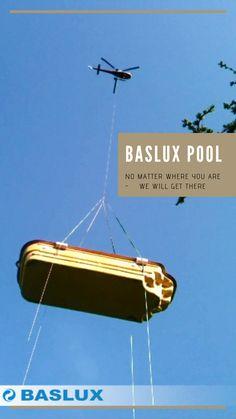 Dla nas nie ma rzeczy niemożliwych. Baslux to producent basenów poliestrowych, który nie boi się nowych wyzwań! /Baslux Pool Transport Nasa, Transportation
