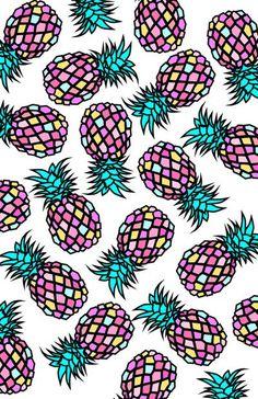 Pineapple graphic print