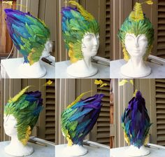 Toothiana Headdress (Rise of the Guardians Cosplay)