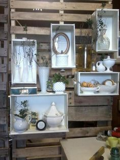 @Nancy Rufle - Oldfather...we could use the drawers for displays on the pallet walls