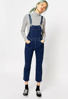 All-in-one denim is the cutest way to say hi to SS16