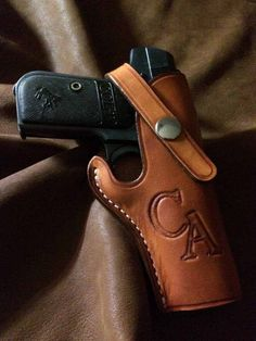 Holster Options For The Colt 1903 Hammerless Pocket Pistol Pocket Pistol, Personal Defense, Leather Holster, Holsters, Mj, Hand Guns, My Style, Firearms, Pistols