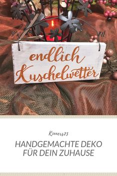 Buntes Shabby Chic Vintage Schild Herbst Dekoschild Türschild lila mit Draht