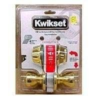Kwikset 695P 5 CP Double Cylinder Deadbolt Combo Pack with Polo Entry Knob in Antique Brass by Kwikset. $42.00. From the Manufacturer                As the industry leader, Kwikset has provided trusted security for over 60 years and has become synonymous with security, peace of mind, style and innovation. Classic lines and enhanced styling make Polo a great choice for many home designs and the perfect enhancement for traditional or contemporary homes. The complemen...