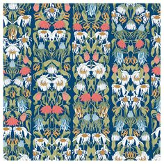 Archives Withered Flowers Color Wallpaper by Studio Job   NLXL from Vertigo Home