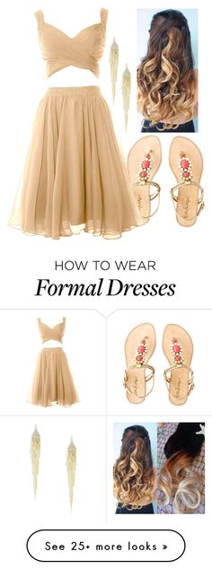 """""""Greek Demigod Daughter Of Hephaestus (Prom/Dance)"""" by cfull on Polyvore featuring Lilly Pulitzer and R.J. Graziano"""