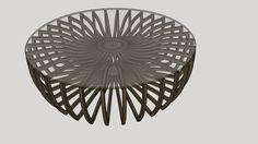 Mesa de centro Wlada - 3D Warehouse