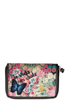 Shop Desigual Spring-Summer 2018 women's clothing. Indeed It Is, Sporty, Wallet, Clothes For Women, My Style, Pink, Bags, Shopping, Trends
