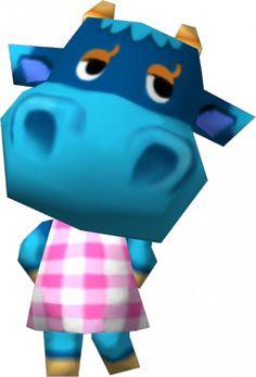 Bessie - Animal Crossing: New Leaf #ACNL
