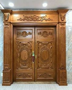 House Main Door Design, Wooden Front Door Design, Main Entrance Door Design, Pooja Room Door Design, Door Gate Design, Door Design Interior, Wooden Front Doors, Door Design Images, Furniture Online