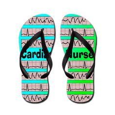 Cardiac Nurse Flip Flops http://www.cafepress.com/+cardiac_nurse_flip_flops,642047794  CafePress has the best selection of custom t-shirts, personalized gifts, posters , art, mugs, and much more.{Cafepress-qAqRmde9}