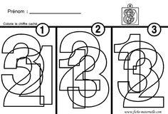 Ressources pédagogiques : apprendre à lire les chiffres en maternelle