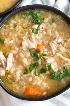 Crock Pot Chicken Rice Soup | greens & chocolate Healthy Soup Recipes, Healthy Cooking, Crockpot Recipes, Chicken Recipes, Dinner Crockpot, Dishes Recipes, Turkey Recipes, Cooker Recipes, Delicious Recipes