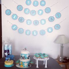 Jaelynn's first birthday setup