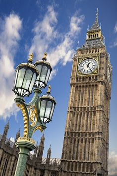 An poster sized print, approx mm) (other products available) - Big Ben the houses of parliament standing proud against a deep blue sky. - Image supplied by Fine Art Storehouse - poster sized print mm) made in the UK The Places Youll Go, Places To Visit, Voyage Europe, Houses Of Parliament, Destination Voyage, Photos Voyages, London City, London Food, London Eye