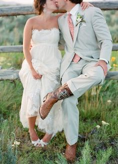 Grooms Cowboy Boots