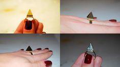 Anel Pirâmide R$35,00