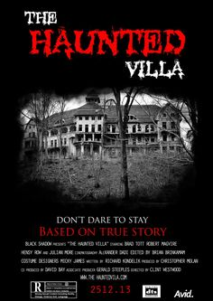 THE HAUNTED VILLA   #photoshopcs6 #works Julian More, Black Shadow, Adobe Photoshop, True Stories, The Row, Villa, Movie Posters, Film Poster, Fork