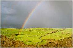"""The weather forecast was for showers and sunny spells, my forecast was like Sir Issac Newtons observations of refracted light, """"a rainbow"""". Newtons was through his glass prism, but we see it in nature, through rain drops. John R, Under The Lights, Super Moon, Peak District, Weather Forecast, Rain Drops, See It, Photographic Prints, Showers"""