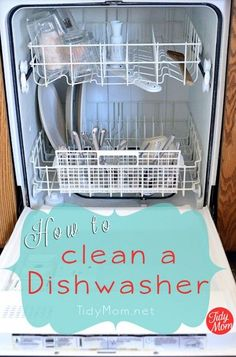 How to clean a dishwasher properly – Surreal Dream