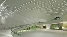 Azerbaijan Cultural Centre, Baku, Interior, #Zaha Hadid