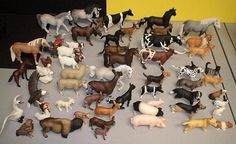 Toy animals - Operation Christmas Child Ideas