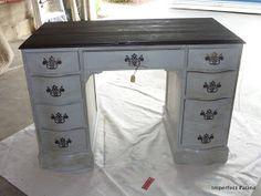 Imperfect Patina: Antique Desk & A FEATURE!