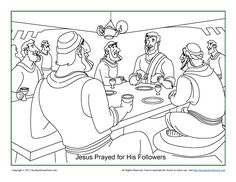 10+ The Last Supper (Lord's Supper) Bible Activities ideas