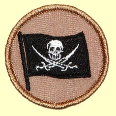 b3fe5148137 Boy Scout Patches Skull and Crossbones Patrol! ( 039) Boy Scout Patches