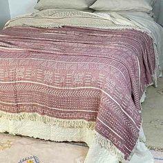 Cotton Throw Blanket Coastal Beauty - Dusrt Rose - Yummy Linen Cotton Muslin, Cotton Throws, Cotton Bedding, Linen Bedding, King Beds, Queen Beds, Large Throws, Linen Sheets, Beds Online