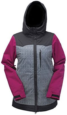 Ride Broadview Jacket Womens Inca Print Twill Small     See this great  product. 7380cab73