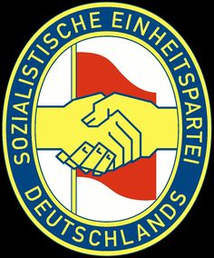 The Socialist Unity Party of Germany was the ruling party of the German Democratic Republic Poland Travel, Peru Travel, Africa Travel, Germany Travel, Political Logos, Denmark Food, Toronto, Ddr Museum, Hand Logo
