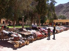 mercado in Purmamarca, in the northern province of Jujuy, Argentina