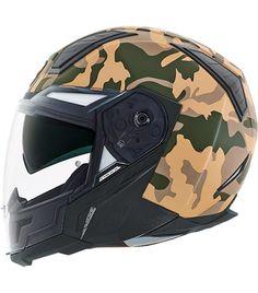 New for 2015 - Nexx Camo Desert Helmet Biker Helmets, Cool Motorcycle Helmets, Motorcycle Equipment, Biker Gear, Cool Motorcycles, Motorcycle Outfit, Motorbike Accessories, Holster, Custom Helmets