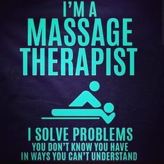 Sometimes the therapy you need requires no talking at all. www.MassageProfessionalsJH.com