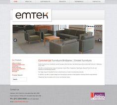 Emtek Furniture Web Site by Scorched Media - www.scorchedmedia.com.au Brisbane, Portfolio Web Design, Commercial Furniture, Outdoor Furniture Sets, Outdoor Decor, Projects, Home Decor, Log Projects, Blue Prints
