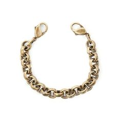 Lenny and Eva Jewelry Brass Charm Bracelet - Need 2 of them to wear with my placard charm as an alternate to the wide leather band